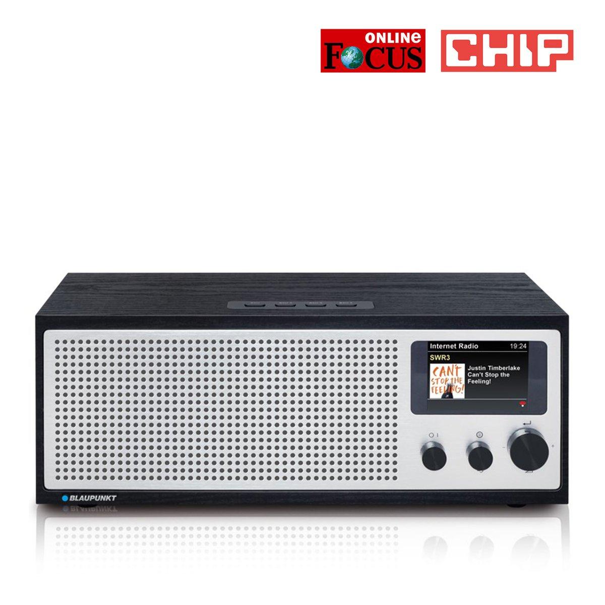 Blaupunkt NAPOLI Internetradio mit DAB+