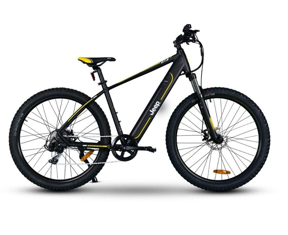 Jeep Mountain E-Bike MHR 7000 (Aluminium), Akku fest, 250 Watt Motor, bis 80 km Reichweite, 23,5 KG, 27,5 Zoll, LCD Display