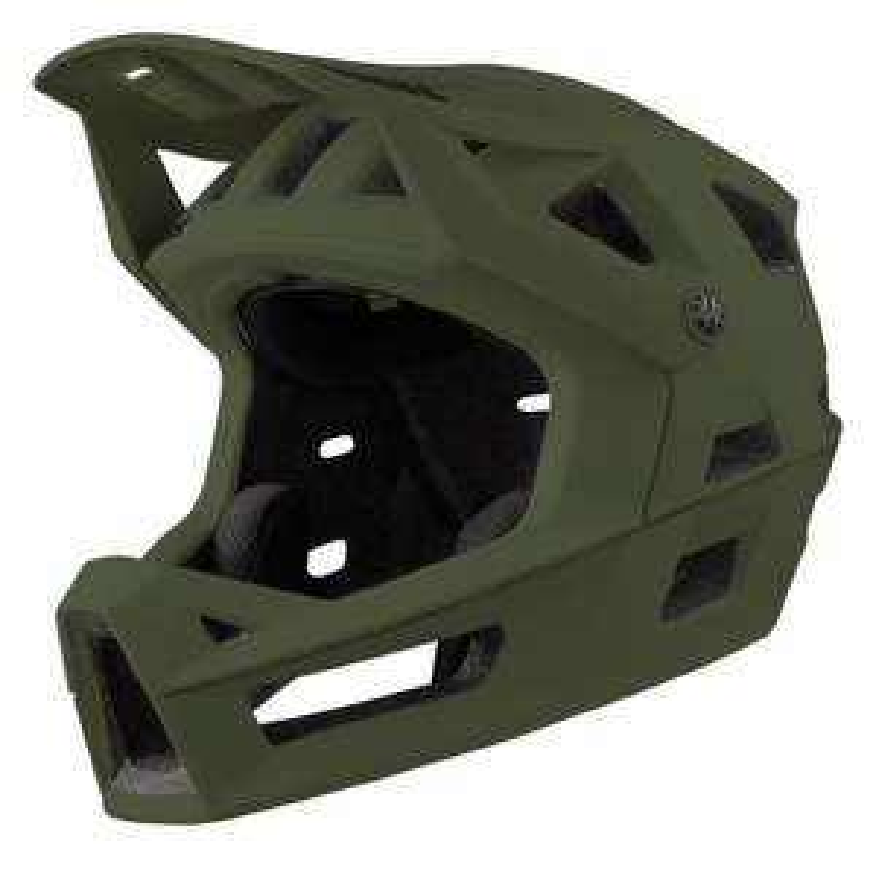 iXS Trigger FF MIPS // Fullface MTB-Helm - Olivgrün - Größe M/L - (Grau für 194,94€, Orange für 212,21€)