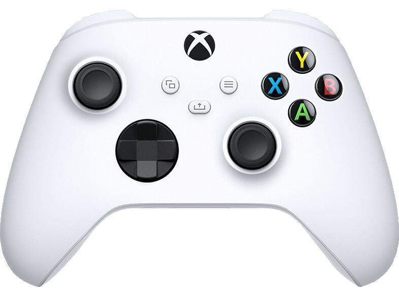 MICROSOFT Xbox Wireless Controller Robot White für 44,99€ bei Abholung [Media Markt]