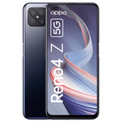 Oppo Reno 4Z 5G 128GB schwarz/weiß im Blau Allnet XL 10GB LTE für 1€ einmalig, 12,99€ monatlich