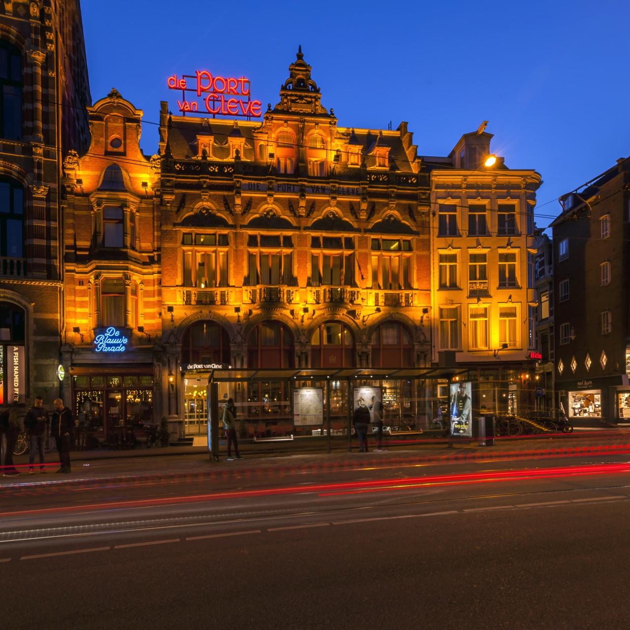 Amsterdam: 4*Hotel Die Port van Cleve beim Königlichen Palast - Doppelzimmer inkl. Frühstück / gratis Storno / bis März 2022 / WE +20€
