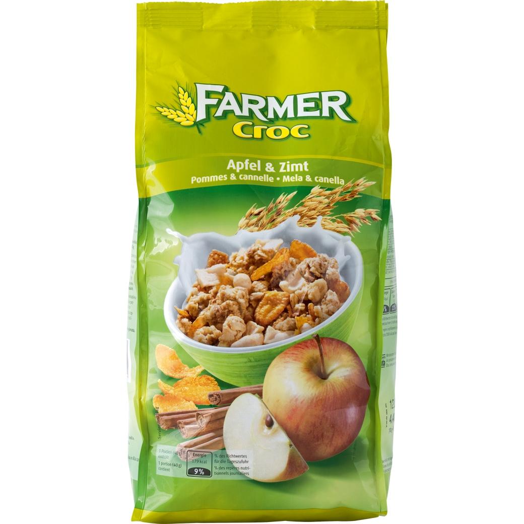 [Migros] Müsli Farmer Croc Crunchy Apfel & Zimt - 500g