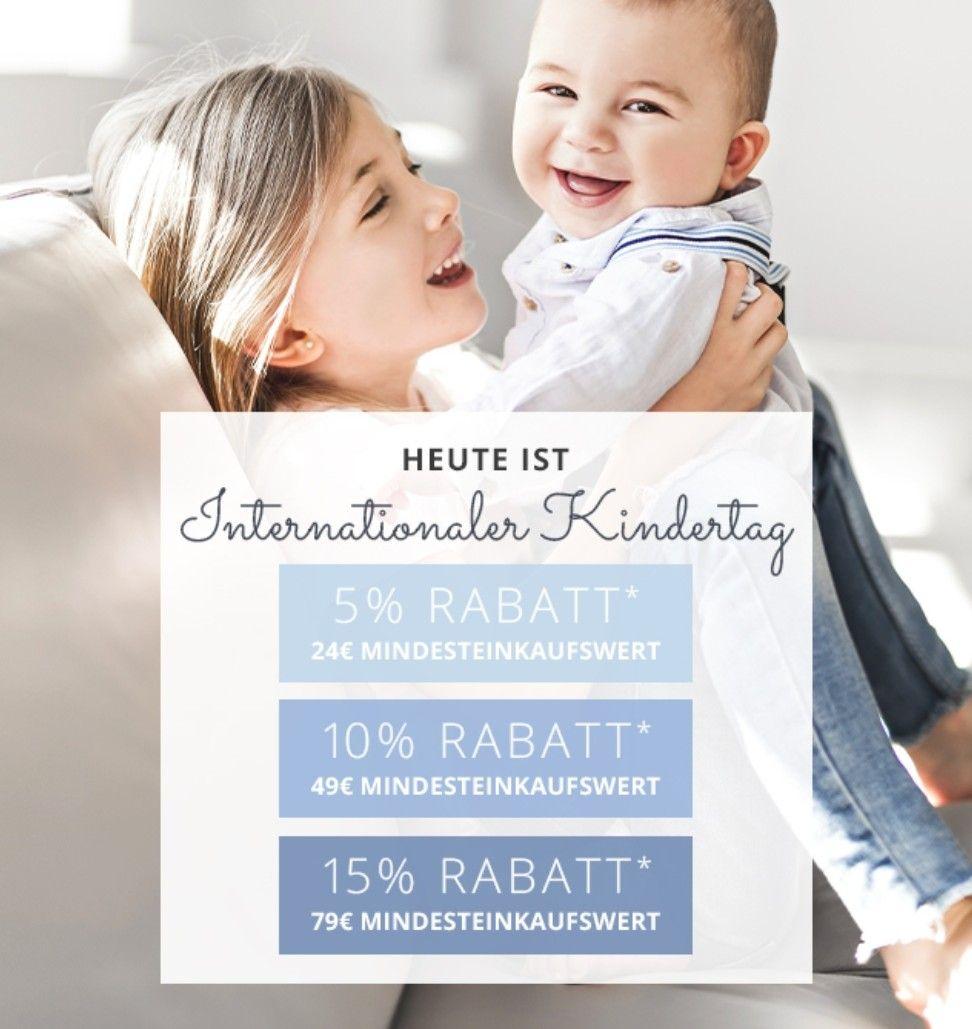 15% zum Internationalen Kindertag bei Baby Walz