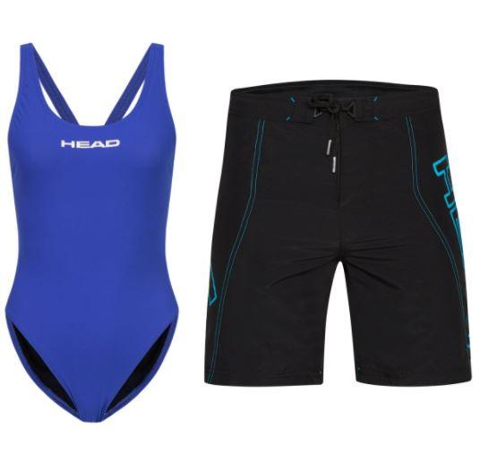 HEAD Schwimmsport Sale, zB: Liquidfire Power Wide Strap Damen Badeanzug
