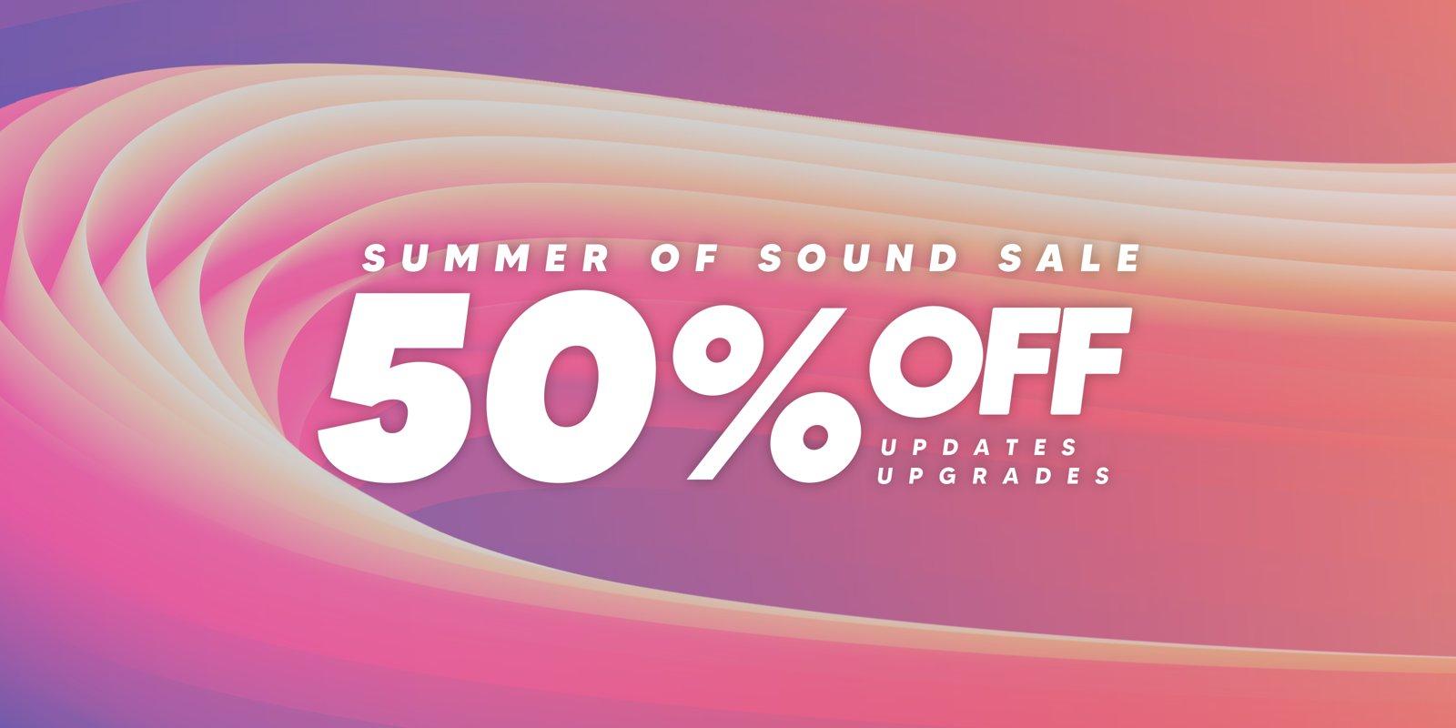 Native Instruments Summer of Sound - Upgrade von Komplete Select auf Komplete mit 50% Rabatt