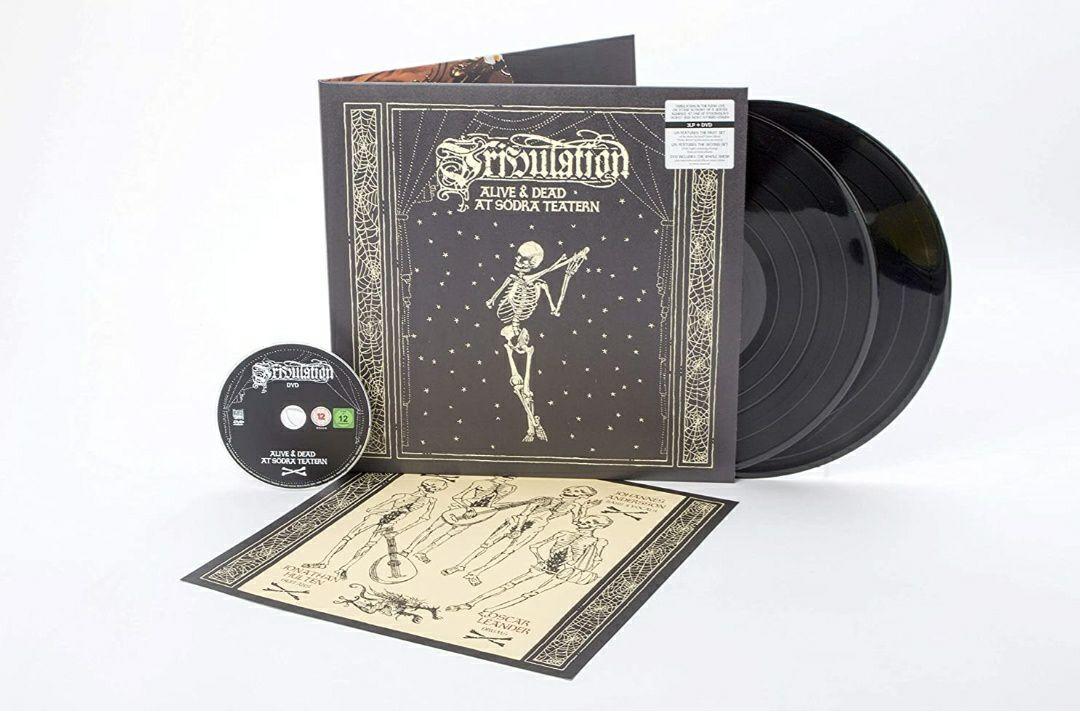 (Prime) Tribulation - Alive & Dead At Södra Teatern (Gatefold Black 2 Vinyl LP + DVD)
