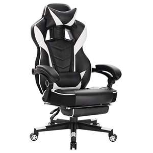 Gaming Stuhl, Schreibtischstuhl / Bürostuhl aus Kunstleder für 118,99€ (weiss), 123,99€ (grau,schwarz) @Amazon Marketplace