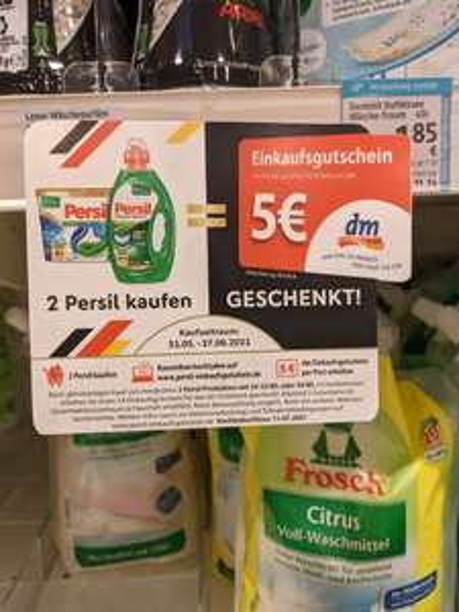 [DM] 5€ Einkaufsgutschein für 2 Persil Produkte