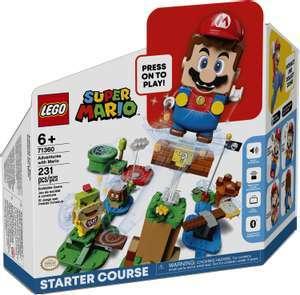 LEGO 71360 Super Mario - Abenteuer mit Mario Starterset für 37,73€ inkl. Versandkosten
