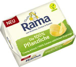 GzG Gratis testen 100% Cashback auf Rama 100% Pflanzlich (vegan)