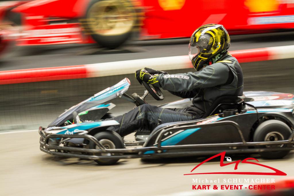 Dritte Fahrt geschenkt im Michael Schumacher Kartcenter in Kerpen