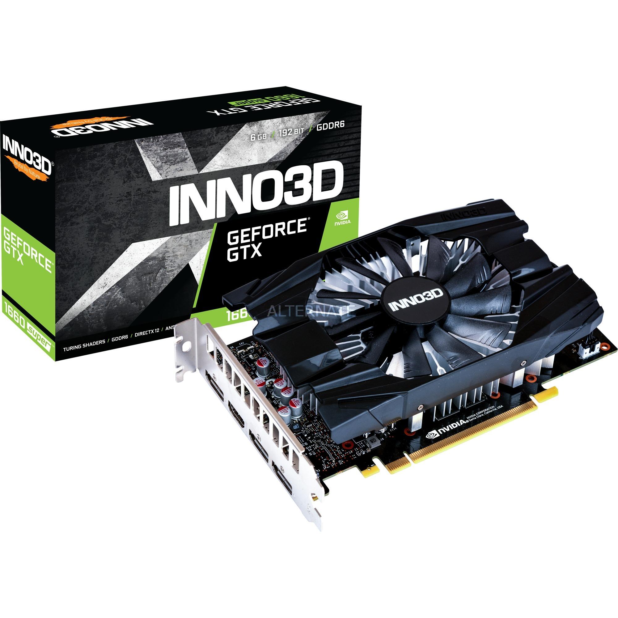 GeForce GTX 1660 SUPER von INNO3D verfügbar zzgl. Versandkosten = 7,99€
