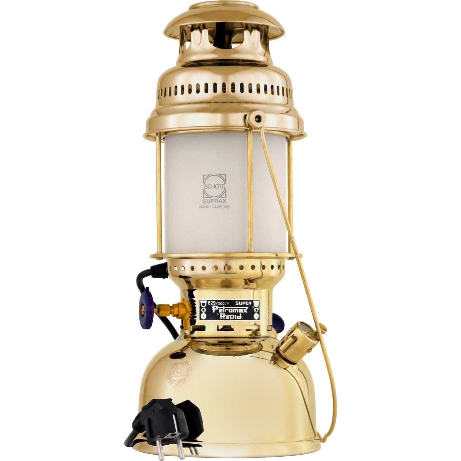 (Outdoortrends) Petromax HK500/829 Elektische Tischleuchte (230 V / E27 Fassung)