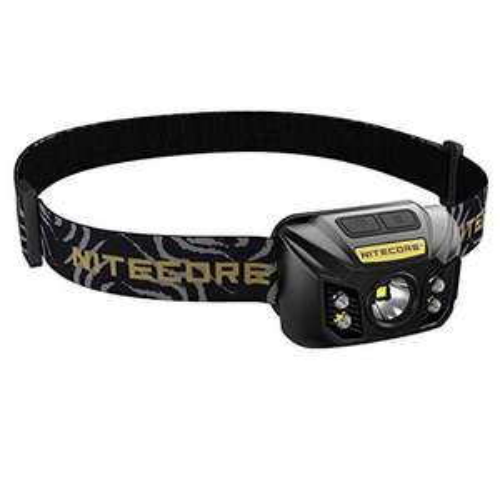 (Amazon Prime /.uk) Nitecore NU32 Stirnlampe (400 Lumen / wasserdicht / 1800 mAh Akku)