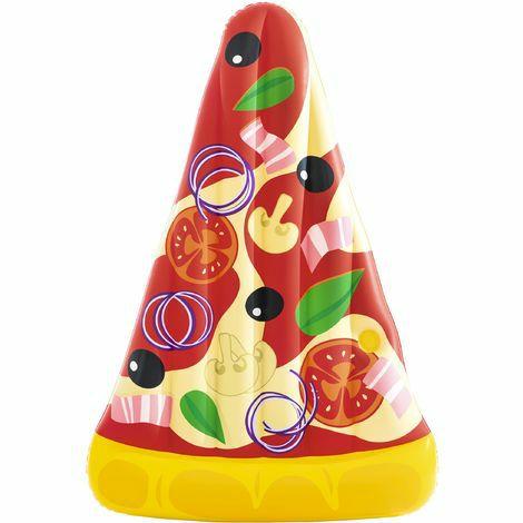 """Bestway-Sammeldeal, z.B. Bestway Luftmatratze """"Pizzastück"""" 188 x 122 x 24 cm [ManoMano]"""