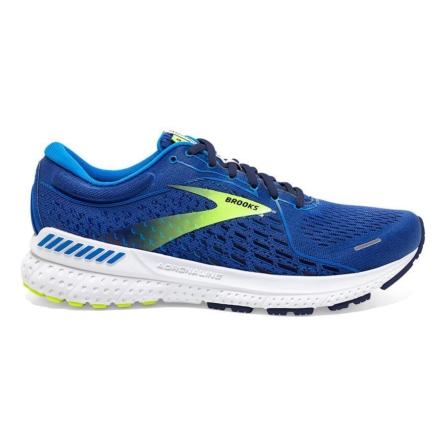 Brooks Adrenaline GTS 21 Laufschuhe blau/gelb Herren