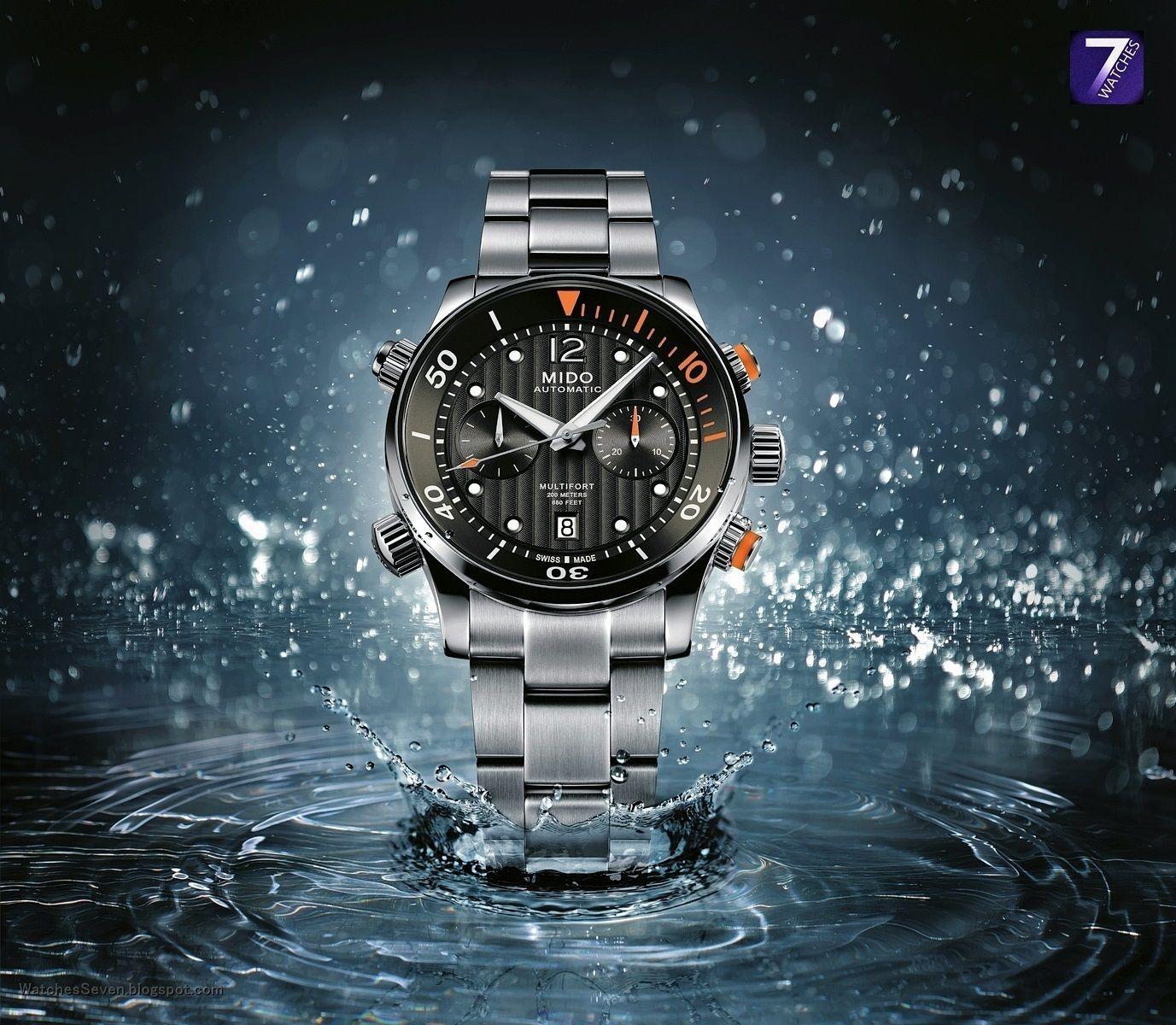MIDO Multifort Chronograph Automatikuhr Diver - Valjoux 7753 - 44mm - 20 bar