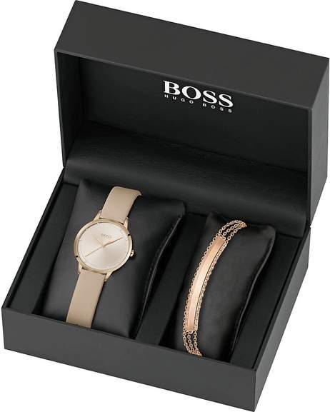 Sommer Sale bei Valmano mit vielen Uhren und Schmuck reduziert - z.B. Hugo Boss Damen-Uhren-Sets Analog Quarz One Size