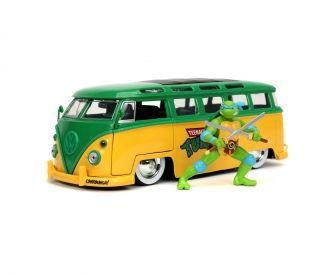 """Jada-Toys-Sammeldeal, z.B. Jada, Teenage Mutant Ninja Turtles, Leonards """"1962 VW Bus"""", 1:24; Freddy Krügers 1958 Cadillac, etc. [jadatoys]"""
