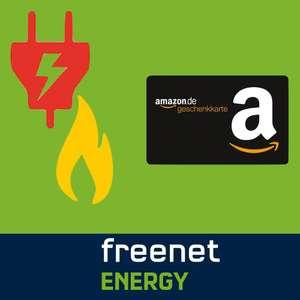 Bis zu 130€ Amazon Gutschein für Stromwechsel über freenet Energy (Bonus ab Lieferbestätigung)