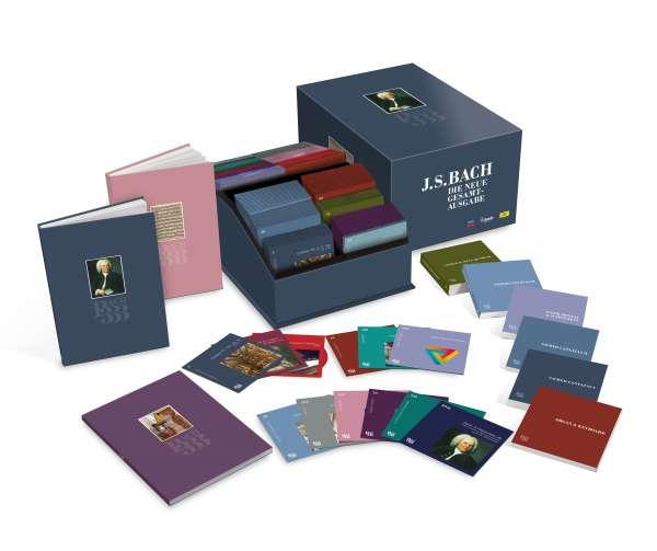 Bach 333 - Die neue Gesamtausgabe (Limited Edition mit 222 CDs, Doku-DVD & Begleitbüchern)