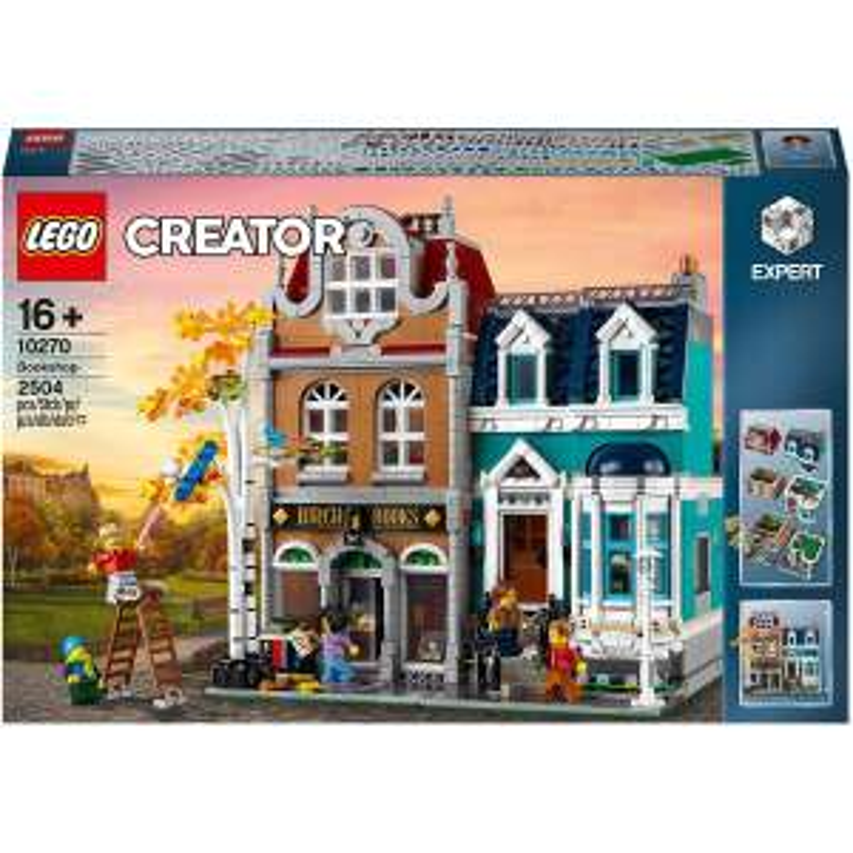 Lego Creator Expert Buchhandlung 10270