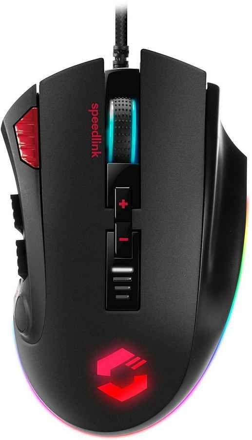 Speedlink »SL-680012-BK« Gaming-Maus (kabelgebunden) [Otto Up Lieferflat]