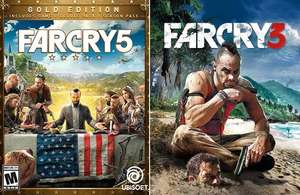 Far Cry 5 Gold: Spiel + Season-Pass + Far Cry 3 Deluxe (PC - Epic Games)