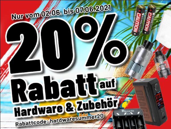 20% auf Hardware und Zubehör bei Riccardo