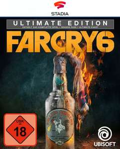 [Stadia] Far Cry 6 Ultimate Edition (Spiel & Seasonpass & Ultimate Pack)