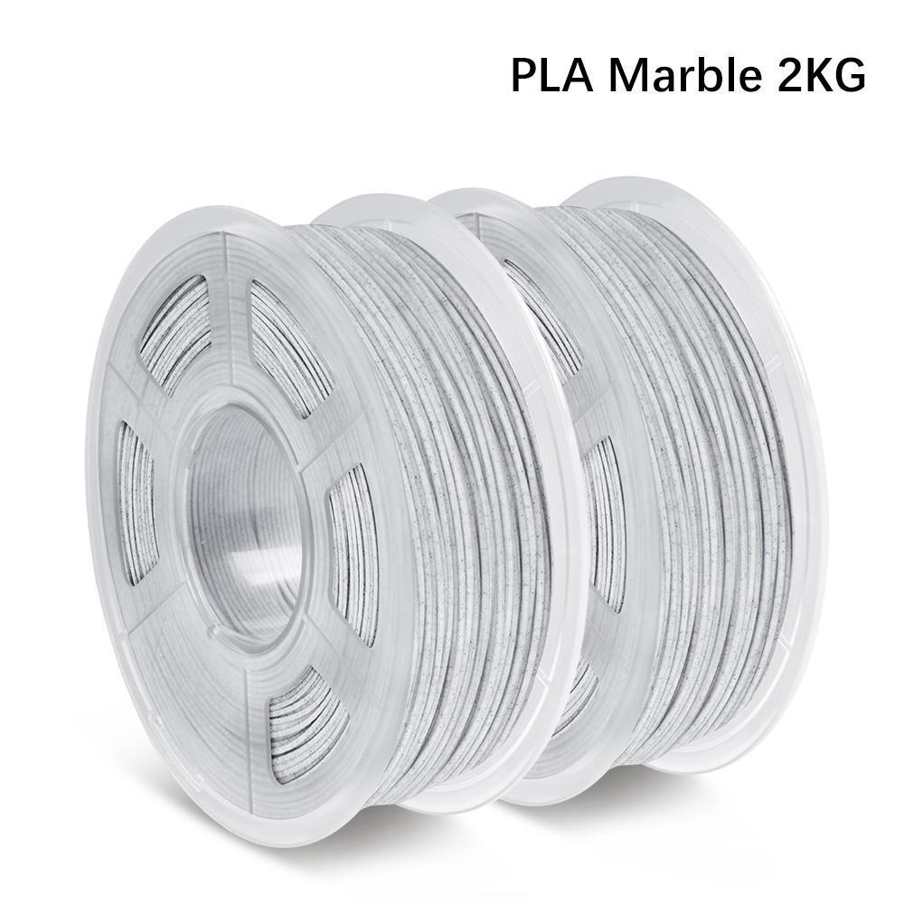 2 x 1kg Sunlu Marmor PLA 1,75mm Filament für 3D-Drucker - 13,85€/Rolle