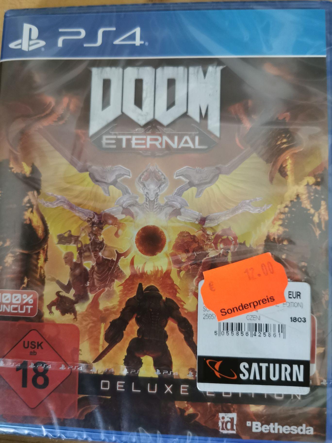 Doom Eternal Deluxe Edition Playstation 4 ( PS4) Lokal Saturn Bad Oeynhausen