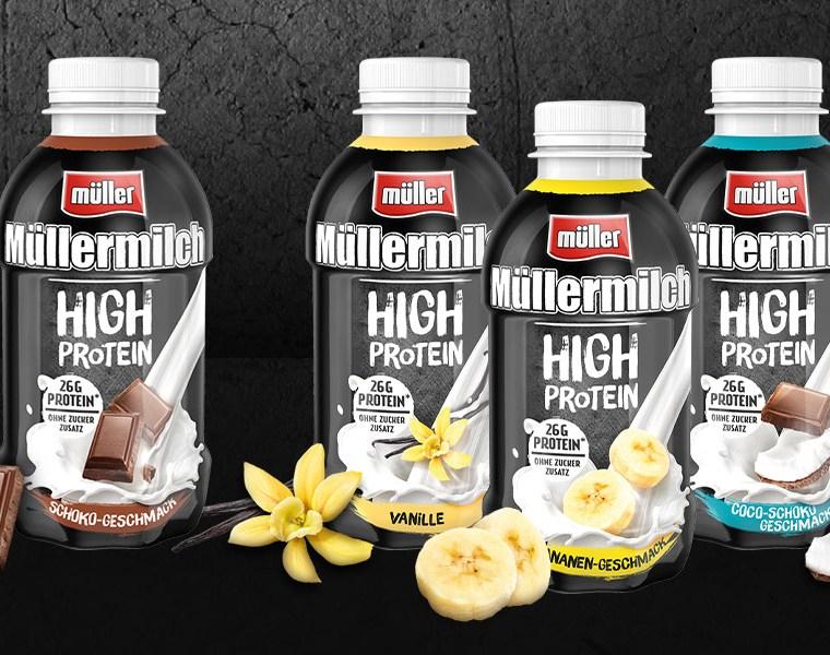 [REWE] Müllermilch Protein für je -,59 €