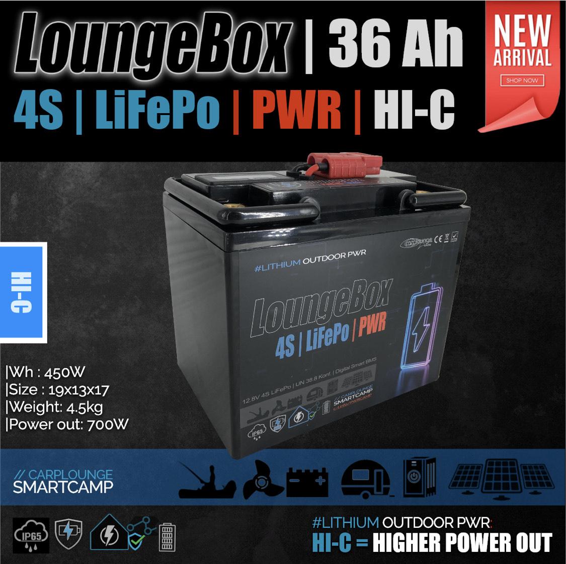NEU! LiFePo4 Akkus HI-C 36Ah bis 250Ah mit leistungsstarken BMS bis zu 150A von 199€ bis 1099€