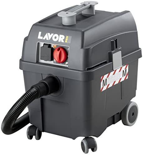 Lavor WORKER PRO EM | Nass-/Trockensauger M-Klasse | Volumen 27l externe Werkzeugsteckdose (max. 2200 W) | Inkl. Zubehör