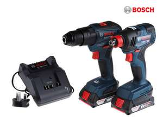 Bosch Professional Schrauber Set GSB 18V-55 + GDX 18V-200