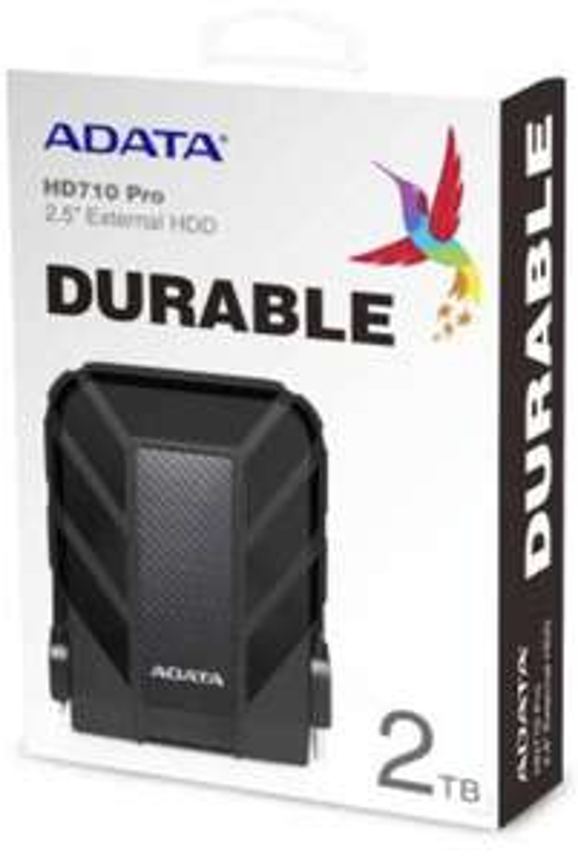 ADATA HD710 Pro - 2 TB HDD, externe Festplatte mit USB 3.2 Gen.1-B-Stecker, IP68-Schutzklasse wasserdicht und staubdicht