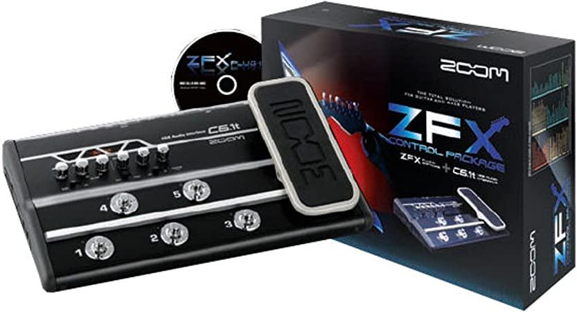 Zoom C5.1t ZFX Control Package (USB-Audio-Interface mit 5 Fußschaltern + Zoom ZFX Software)