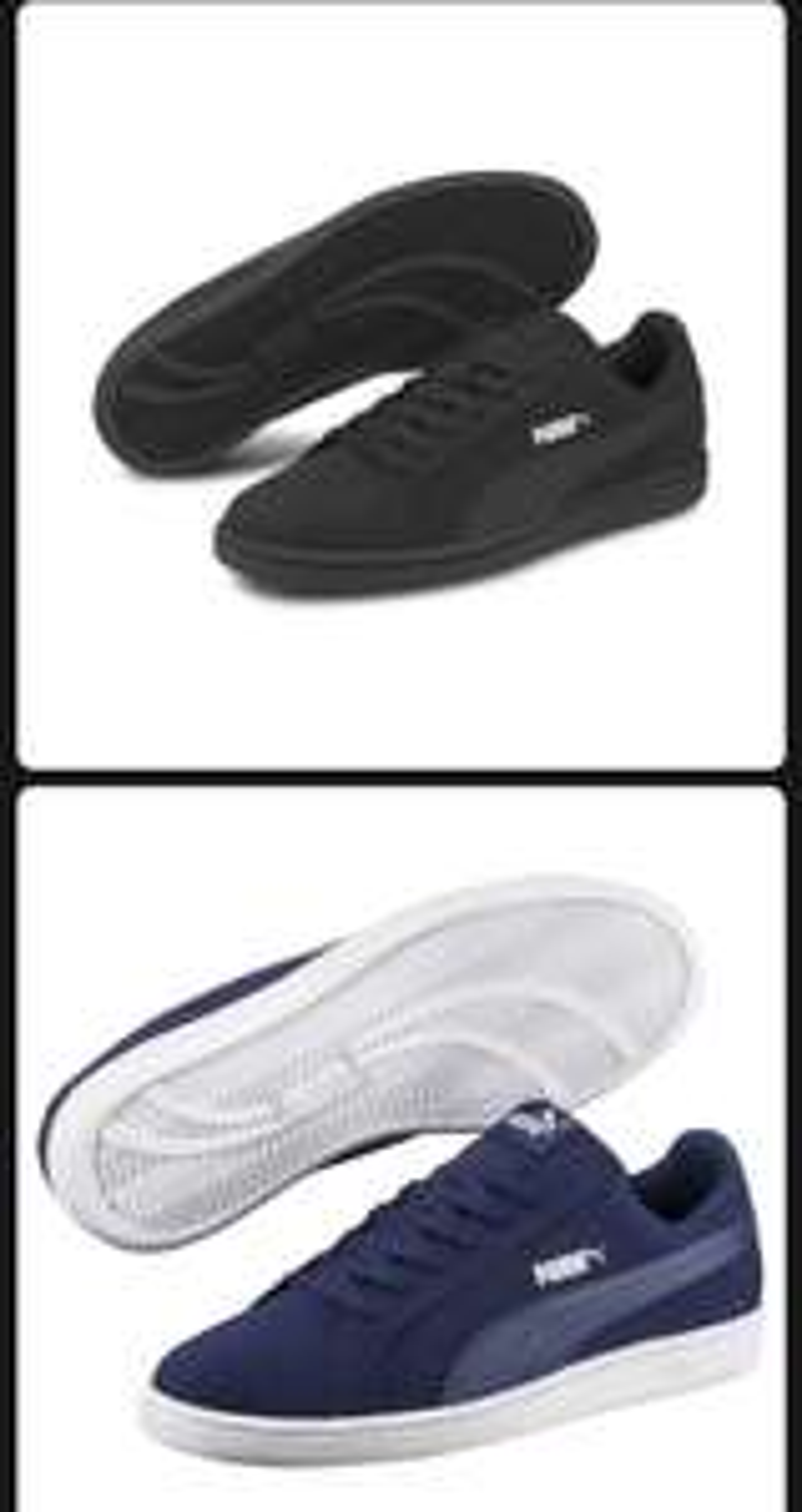 PUMA Smash Buck Sneaker Unisex Schuhe Sport Classics Neu (Kunstleder)