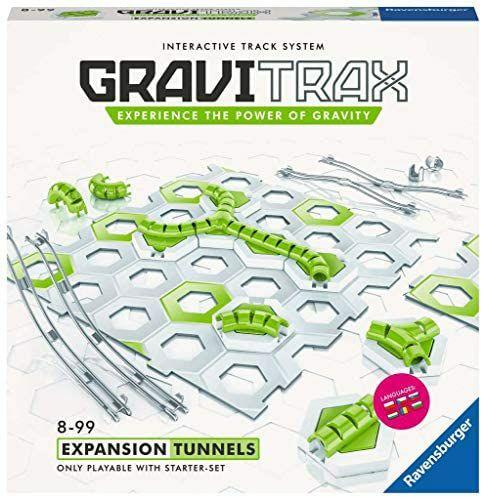 Ravensburger GraviTrax Erweiterung Tunnel Bahn, 15 Teile, ab 8 Jahren [Amazon Prime]