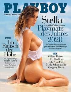 Playboy Jahres-Abo (12 Ausgaben) für 79,20€ inkl. 75€ Amazon Gutschein oder 70€ Verrechnungsscheck + 40 Payback Punkte