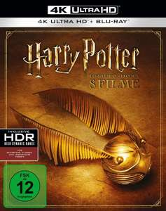 Harry Potter Complete Collection (16-Disc Blu-ray Set) (4K Ultra HD) [Blu-ray]