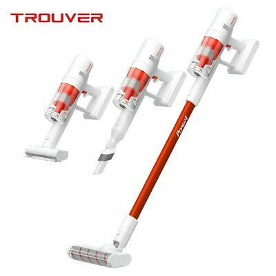 TROUVER Power 11 Handstaubsauger Akku Staubsauger Akkusauger Sperrknopf LED HEPA