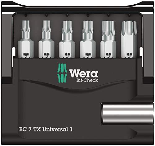 Verschiedene Wera Bit-Check zB 7 TX Universal 1 (Prime)