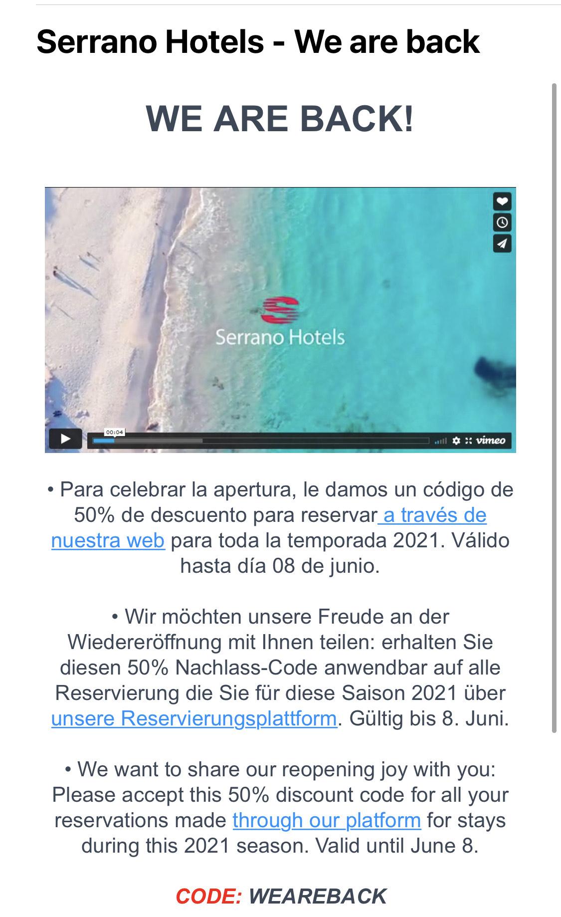 Serrano Hotels Mallorca Cala Ratjada
