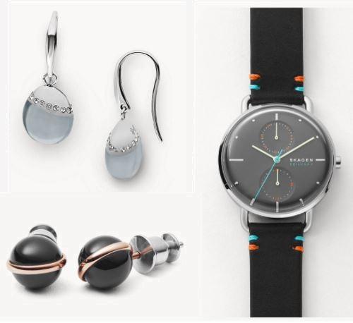 SKAGEN - sonnige Angebote -30% auf Sale und Outlet, zB: Ohrringe Sea Glass