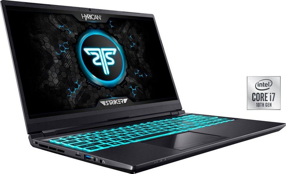 Hyrican Striker (15,6 Zoll) Gaming-Notebook 1637 [RTX 3080 Max-Q]