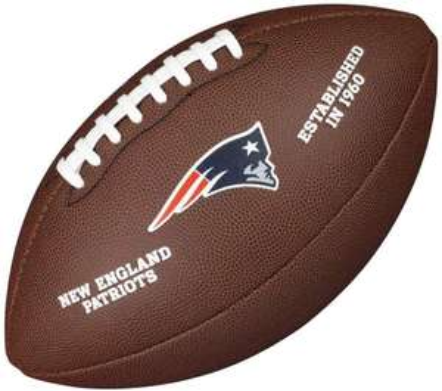 Wilson NFL Team Logo New England Patriots (offiziell lizenziert)