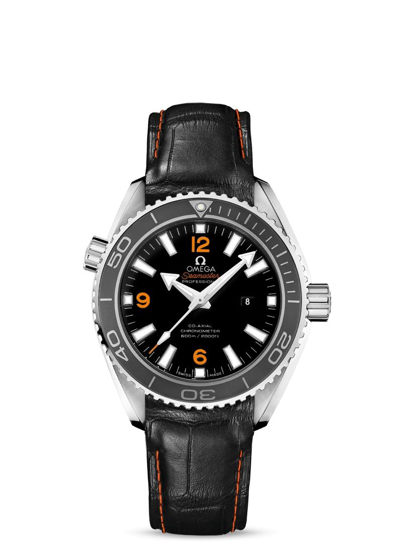 Omega Seamaster Planet Ocean Co-Axial Chronometer 37,5mm 600m Diver Automatikuhr